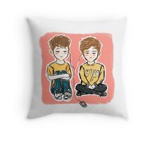 yellow. Throw Pillow