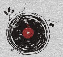 Cool Grunge Enchanting Vinyl Records Vintage Kids Tee