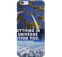 Rumi quote iPhone Case/Skin