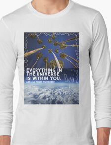 Rumi quote Long Sleeve T-Shirt