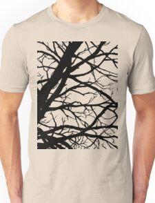 Dark Pink Lavender Tree Unisex T-Shirt