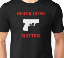 Black Guns Matter Unisex T-Shirt