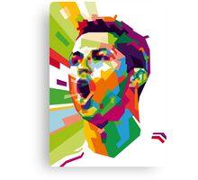 Cristiano Ronaldo – CR7 WPAP #3 Canvas Print