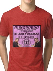 An Award in Goodness  Tri-blend T-Shirt