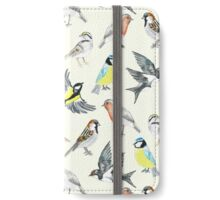Illustrated Birds iPhone Wallet/Case/Skin