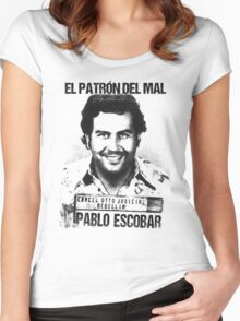 El Patron del mal Women's Fitted Scoop T-Shirt
