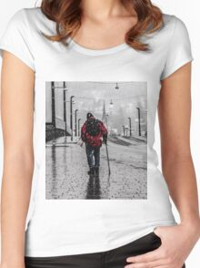 The walk Women's Fitted Scoop T-Shirt