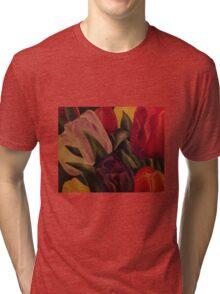 Tulpen ~Tulips Tri-blend T-Shirt
