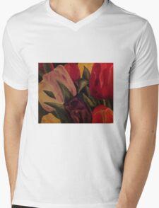 Tulpen ~Tulips Mens V-Neck T-Shirt