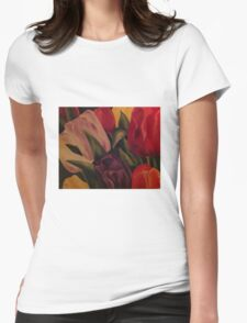 Tulpen ~Tulips Womens Fitted T-Shirt