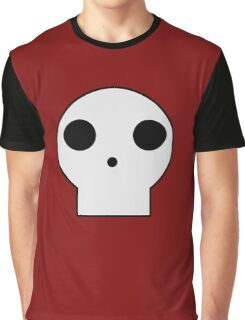 Skull Cartoon Graphic T-Shirt