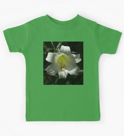 Of Water Pearls and Easter Lilies Kids Tee