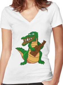 Charlie Chocodile 2015 Women's Fitted V-Neck T-Shirt