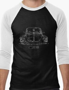 vw käfer 1972 vintage Men's Baseball ¾ T-Shirt