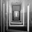 Ghostly Hospital Corridor by Jill Fisher