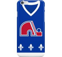 Quebec Nordiques Away Jersey iPhone Case/Skin