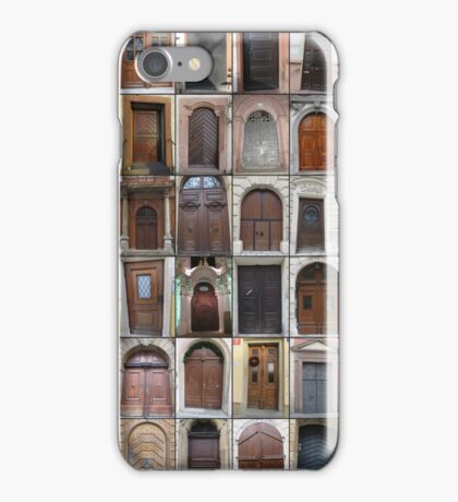 Doors through Europe iPhone Case/Skin