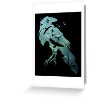 Crows Greeting Card