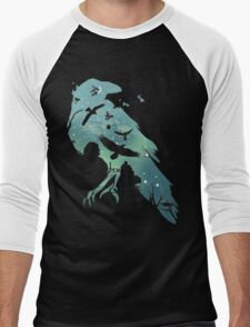 Crows Men's Baseball ¾ T-Shirt