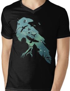 Crows Mens V-Neck T-Shirt