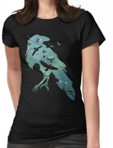 Crows Womens Fitted T-Shirt