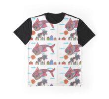 Flying Fish Fantasies  Graphic T-Shirt