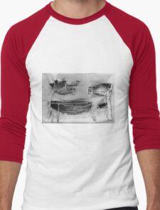Weathered Face 2 Men's Baseball ¾ T-Shirt