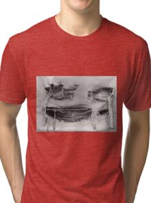Weathered Face 2 Tri-blend T-Shirt