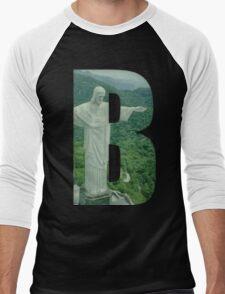 Brazil (Brazilian Jiu Jitsu) Men's Baseball ¾ T-Shirt