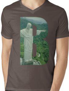 Brazil (Brazilian Jiu Jitsu) Mens V-Neck T-Shirt