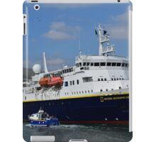 National Geographic Explorer in Dingle harbour iPad Case/Skin