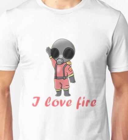 Pyro - I love fire Unisex T-Shirt