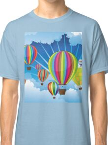 Air Balloons in the Sky 5 Classic T-Shirt