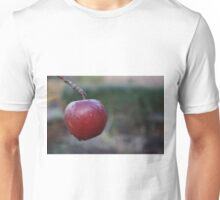 Red Apple on Branch Unisex T-Shirt