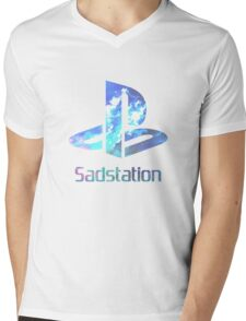 Sadstation Mens V-Neck T-Shirt
