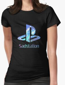 Sadstation Womens Fitted T-Shirt