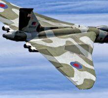 "Avro Vulcan B2  XH558 ""Spirit of Great Britain"" Sticker"