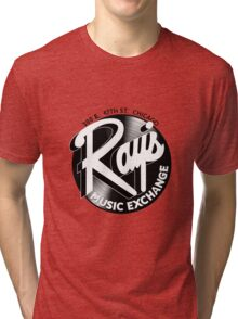 Ray's Music Exchange - 3D Alternative Record Variant Tri-blend T-Shirt