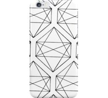 Octaèdre iPhone Case/Skin