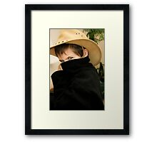 Zorro Junior...  Framed Print
