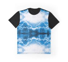 Dramatic dark blue clouds Graphic T-Shirt