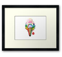 The Best Knee-slapping Ice-cream of Your Entire Life Framed Print