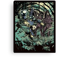 Welcome to the jungle. Canvas Print