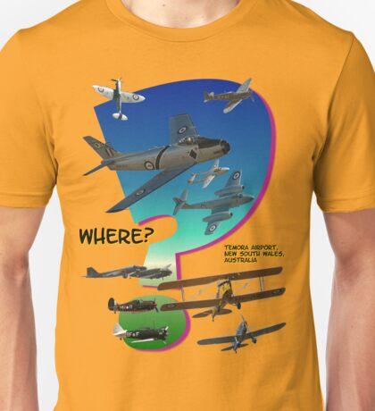 Where? (Temora Design) Unisex T-Shirt