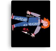 Anatomy of Chucky Canvas Print