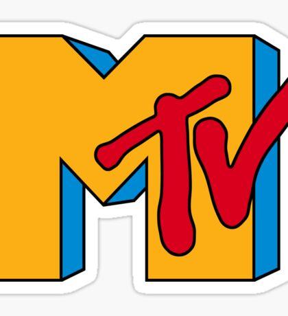 MTV Logo 1 Sticker