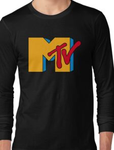 MTV Logo 1 Long Sleeve T-Shirt