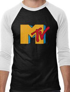 MTV Logo 1 Men's Baseball ¾ T-Shirt
