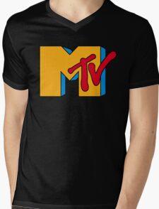 MTV Logo 1 Mens V-Neck T-Shirt