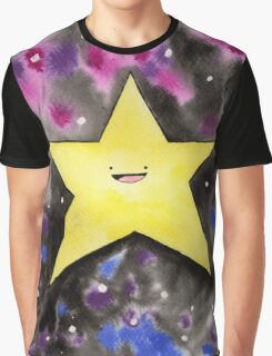 Bright Happy Star Graphic T-Shirt